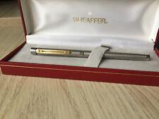 Stylo plume Sheaffer TARGA   Plaqué argent - plume or - slimline