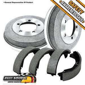 For GMC Sonoma Isuzu Hombre Chevy S10 Blazer Pckup Rear Brake Drum & Brake Shoes