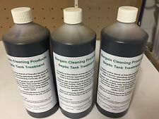 3 x 1 litre bottles of Septic Tank Treatment - up to a years supply