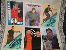 Nsync Trading Cards Lot Panini, Winterland