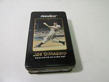 Pinnacle Joe DiMaggio Exclusive 30 Card Set With Collectible Tin  t4188