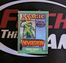1 Empty Deck Box -INVASION - HEAVY DUTY - NM/SP Condition - Magic MTG FTG