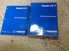 2008 Mazda CX7 CX-7 Service Shop Repair Workshop Manual Set FACTORY OEM W EWD