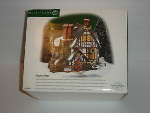 Department Dept 56 Dicken's Village Staghorn Lodge #58445 RARE and Hard to find