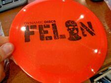 Dynamic Discs Dd Lucid Sparkle Big Stamp Felon Disc Driver Orange 169G ~Lsdiscs