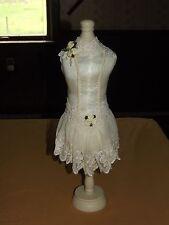 "New Listing18 1/2"" High Wedding Dress Hat Stand New Unused"