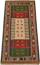 Kelim Läufer Qouchan 195 x 98 cm  Nomaden Teppich Wolle kilim tribal rug 1519