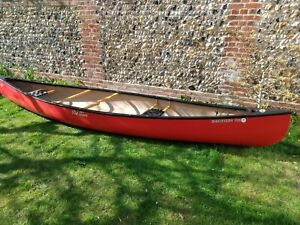 Old Town Discovery 158 Canadian Canoe Excellent condition with paddles and cover