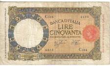 FREE SHIPPING IF YOU SPEND 100.00 $ P ITALIA ITALY 1 LIRA 4.11.1939 26 UNC