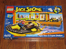 LEGO Jack Stone Aqua Res-Q Super Station Speedboat 4 Figs (4610) NIB Never Built