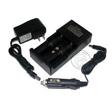Soshine H2 AA AAA LiFePO4 NiMH 18650 16340 26650 Li-ion battery 12V Car Charger