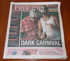 RARE JCW TOLEDO PRESS ICP INSANE CLOWN POSSE NEWSPAPER MAGAZINE MAY 4, 2014