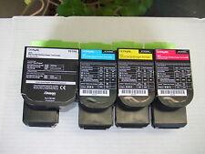 Lexmark 801 Full Set Black Cyan Yellow Magenta Toner to CX310 CX410 CX510 Series
