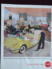 1958 Coca Cola Advertisement Illustration by George Hughes