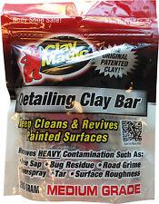 Clay Magic RED MEDIUM Grade Clay Bar 200 Gram CM1200
