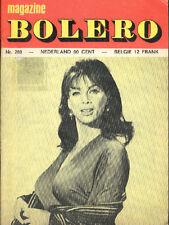 BOLERO 269 MARIA GOMEZ MARISA BENTONI sexy Magazine curiosa CANDICE BERGEN
