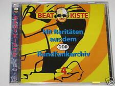 BOÎTE À RYTHME HIT RARITÄTEN AUS DER DDR (R.D.A.) VOL. 4 CD (E254)