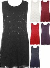Polyester Lace Dresses for Women with Sequins