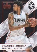 2015-16 Limited Basketball #77 DeAndre Jordan 43/80 Los Angeles Clippers