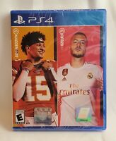 Madden NFL 20 & FIFA 20 (PlayStation 4 PS4) EA Sports Bundle BRAND NEW SEALED
