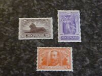 NEW ZEALAND POSTAGE REVENUE STAMPS SG456-8 LIGHTLY MOUNTED MINT