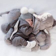 Elephant Grey 24 Inch Stuffed Animal Plush Elephant Pillow USA new in BOX