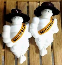 8X2 New Michelin Man Doll With Leather Cowboy Hat Figure Bibendum Michelin Tire