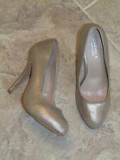 Carvela Kurt Geiger gold sparkle 12cm stiletto court party wedding shoes 40 6.5
