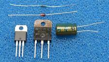 SAECO Brühgruppe blockiert Reparaturset Tip33C, T407, Z-Diode, 100Ω, 50V/470µF