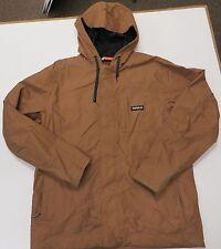 ThirtyTwo Mens Kaldwell Ski Snowboarding Jacket Brown Coat Large Hood