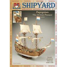 Shipyard 73: papegojan 1:96 con parti Lasercut