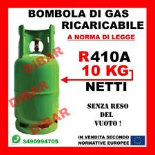 BOMBOLA DI GAS R410A 10KG NETTI FRIGO CLIMA RICARICABILE