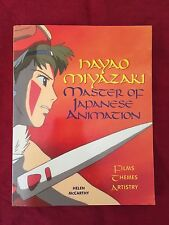 Hayao Miyazaki Master of Japanese Animation - H. McCARTHY - STONE BRIDGE - 2002
