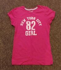 YD Short sleeve pink front print T-shirt Age:12-13 yrs
