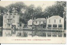 CPA 45 - Los Punteras del Loira - Olivet - Le Cafetería restaurantes Paul FORET