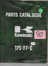 Kawasaki 1973 175 F7-C Parts Catalogue   #90