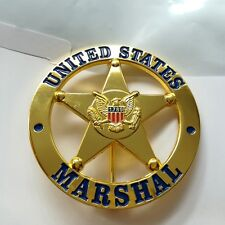 United States Badge Gold Round Metal US Bedge Insignia Brooch Cosplay Props