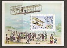 Grenada. SC # 894 75th Anniversary of the first flight. MNH