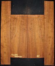 Guitar Luthier Tonewood FIGURED HORMIGO GRANADILLO Acoustic backs sides set