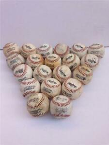 Lot of 20 Used Rawlings Official League Little League Practice Baseballs
