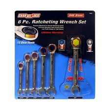 """Channellock Model 38048 Sae Ratcheting Wrench Set 5/16"""" - 5/8"""""""