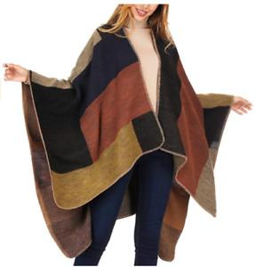 Shawl Poncho Cape Cardigan Wrap Warm Elegant 40+ Styles HIGH QUALITY USA SELLER