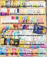 Random Korean Mask Sheet / Korean face mask / K-Beauty / K-Skin Care / $15~$100