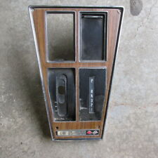 75 76 CHEVROLET CORVETTE ORIGINAL GM AUTOMATIC SHIFTER TRIM PLATE WITH AIR