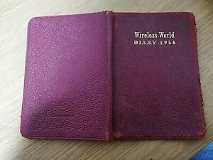 Vintage Wireless World Diary from 1956