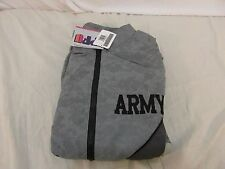 NEW With Tags US Army PT Jacket IPFU Reflective ACU XL Regular Gray 110453