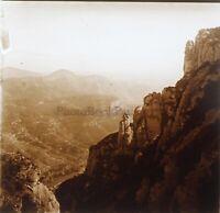 Algeria Canyon Foto Stereo PL58L29n5 Placca Lente Vintage