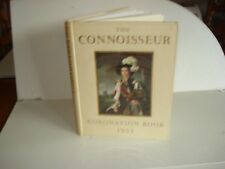 1953 CORONATION BOOK THE CONNOISSEUR Queen Elizabeth II Royal Family England