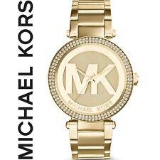 ✅ Original MICHAEL KORS Luxus Damen Uhr MK5784 Parker, goldfarben, NEU+OVP