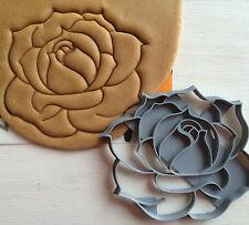 "Сookie cutter ""Rose"" cookiecutter cookies custom shape"